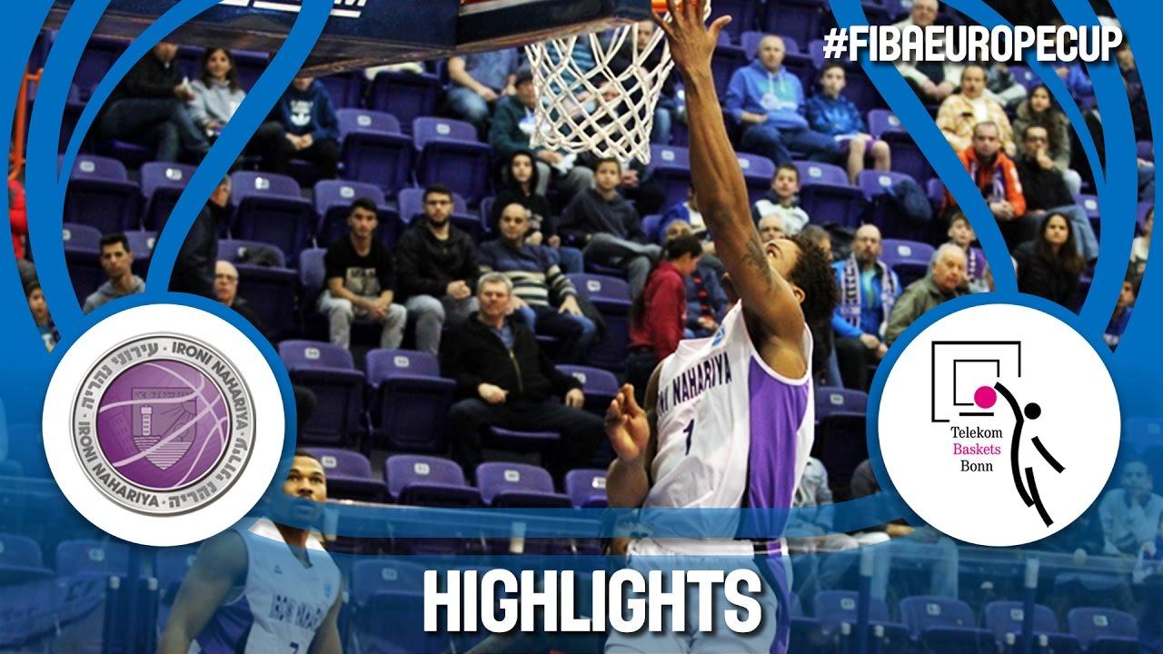 Highlights: Ironi Nahariya (ISR) v Telekom Baskets (GER) - Quarter-Final