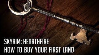 Skyrim - Hearthfire: How To Buy Your First Land (Landowner Achievement Guide)