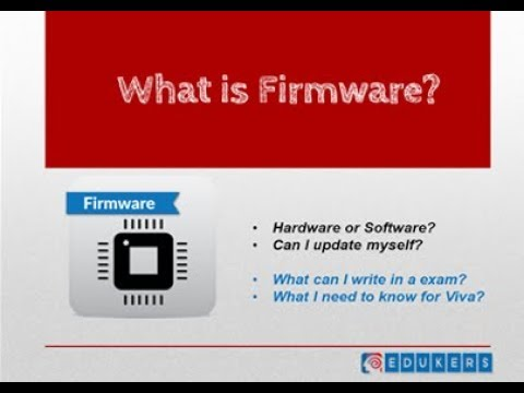 What is Firmware?