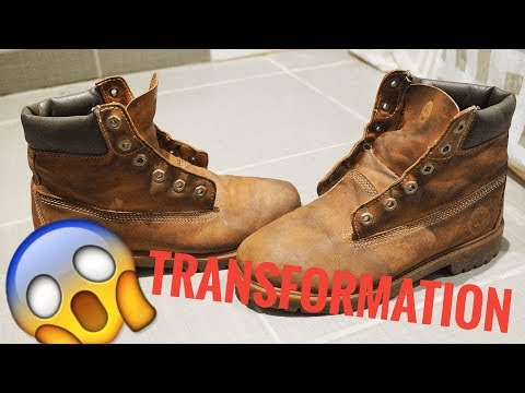 teindre ses timberlands