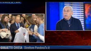 Giulietto Chiesa: Più l'Occidente preme sulla Russia, più Putin si rafforza.