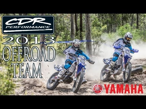 CDR Yamaha 2013 Offroad Racing Team Launch