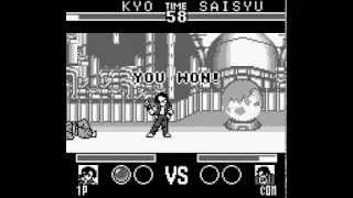 Game Boy Longplay [095] Nettou King of Fighters