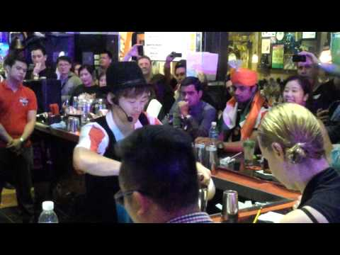TGIFridays Asia-Pacific Bartender Championship (Japan bet)