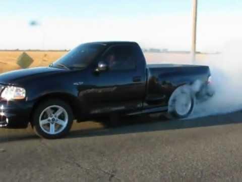 2002 Ford Lightning Burnout