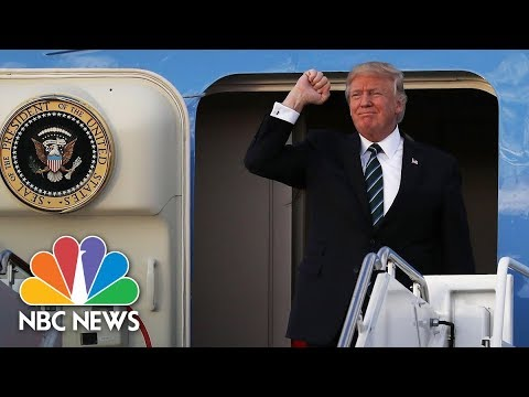 Changing The Subject: Can President Donald Trump's Asia Trip Silence Russia Noise? | NBC News