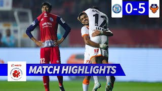 Jamshedpur FC 0-5 FC Goa - Match 85 Highlights | Hero ISL 2019-20