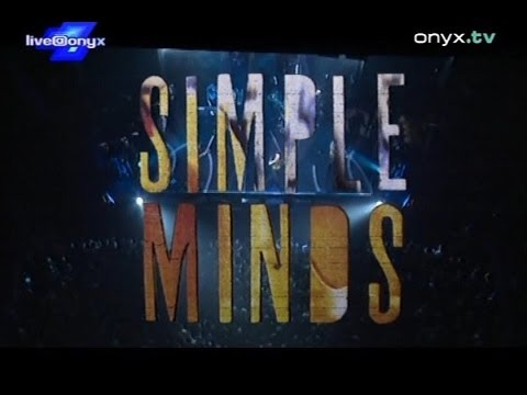 """Simple Minds - """"Live At The Olympia Paris, October 31 1995"""" (720p Version)"""