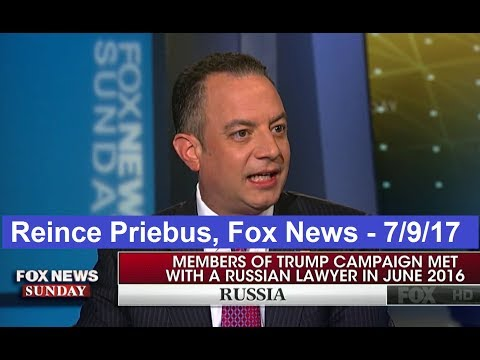 Reince Priebus interview with Fox News Chris Wallace 7/9/17. HD