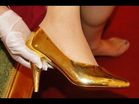 a53829969 أغلى 10 أحذية في العالم أحدها أكثر من 3 مليون دولار !!. - YouTube