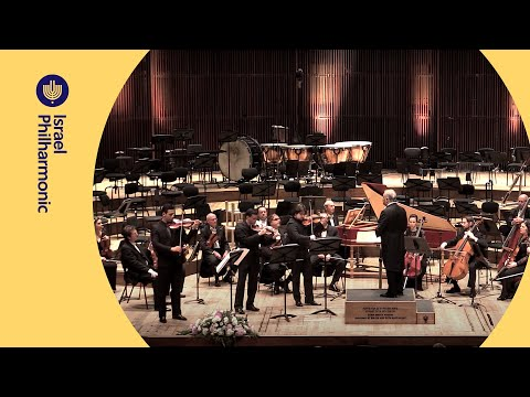 Vivaldi concerto for 3 violins in F major - Israel Philharmonic Orecestra