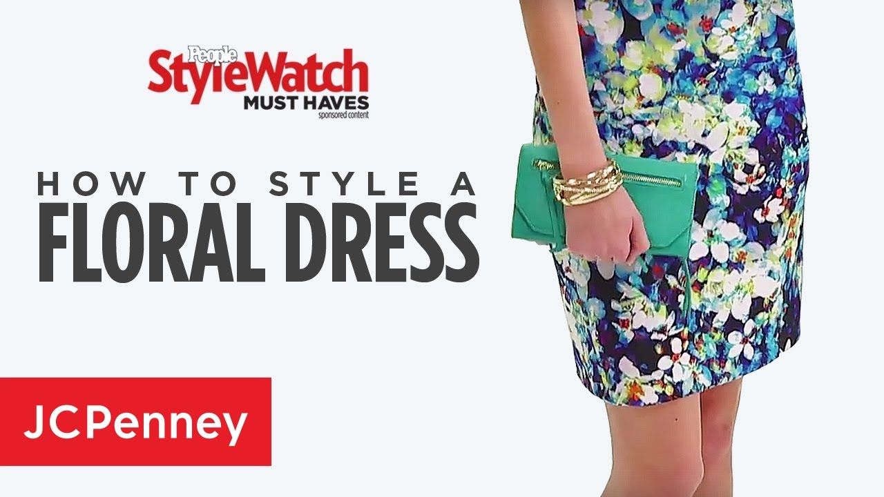 How To Wear A Floral Dress Summer Fashion Trends