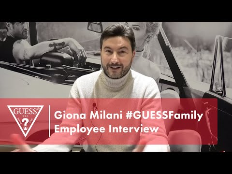 Giona Milani #GUESSFamily Employee Interview