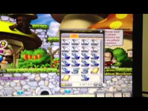 CNY maplestory new year gift boxes