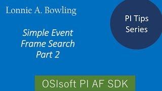 بي نصيحة #3 الحدث إطارات البحث مع AF SDK - الجزء #2