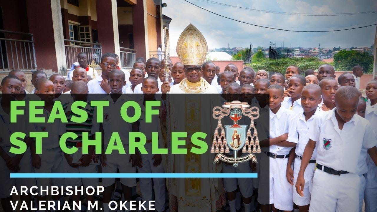 ST CHARLES COLLEGE ONITSHA FEAST DAY 2019   Archbishop Valerian Maduka Okeke