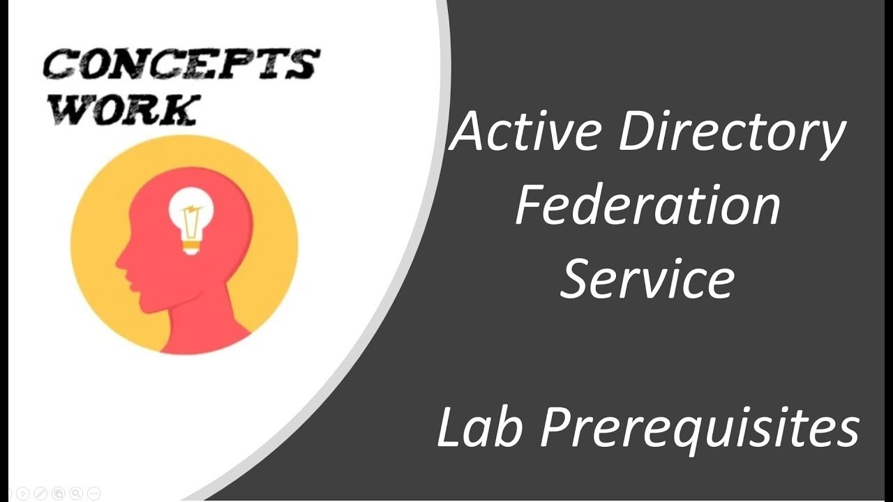 Active Directory Federation Service - Lab setup
