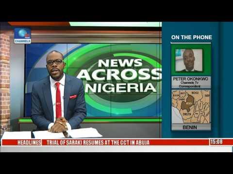 News Across Nigeria: Buhari Commissions Projects In Benin