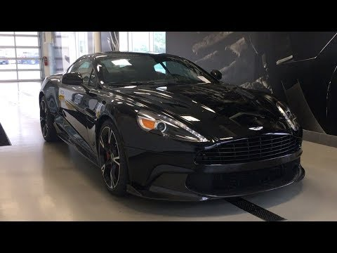 New 2018 Aston Martin V12 Vanquish S!! An Exclusive First Look!