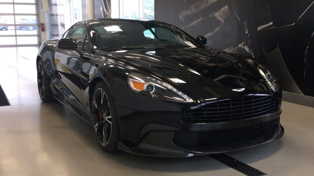 New Aston Martin V Vanquish S An Exclusive First Look - Black aston martin vanquish