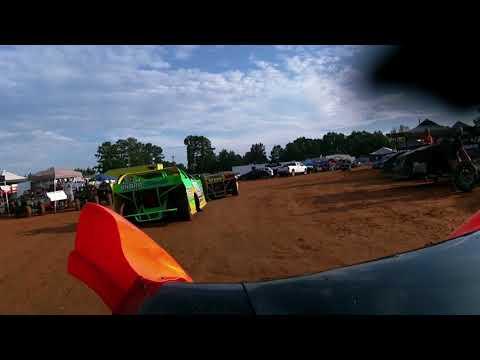 SHARP SPRINT MINI LATE MODELS @ WHYNOT MOTORSPORTS PARK 8/18/17 HOT LAPS CAR #109