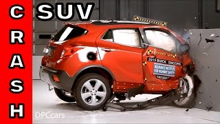 Small SUV Passenger side protection crash test