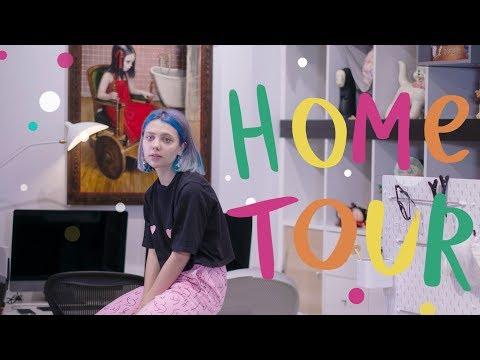 Тур по моему дому / Art Studio Tour - Home