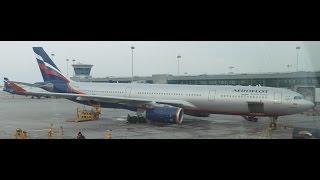 Aeroflot Airbus A330-300 takeoff from Sheremetyevo International Airport (Moscow (SVO))