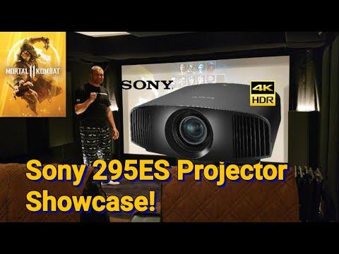 Sony VPL-VW295ES Projector : Mortal Kombat 11 on Xbox One X : Home Theater Showcase