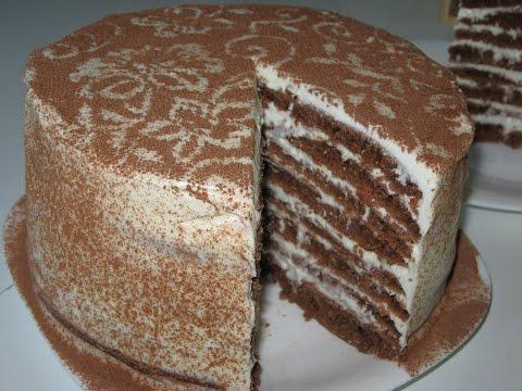 Как приготовить печеночный торт лучший рецепт