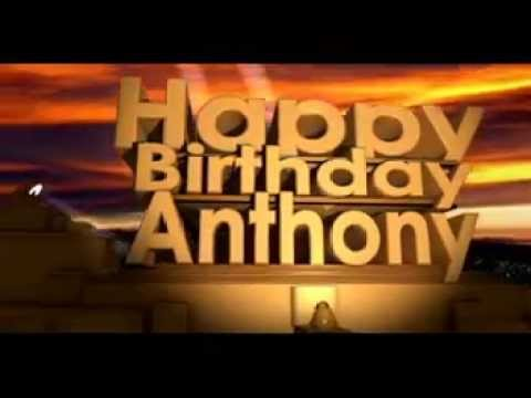 hqdefault happy birthday anthony youtube