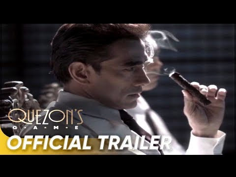 Official Trailer | Raymond Bagatsing, Rachel Alejandro | 'Quezon's Game'