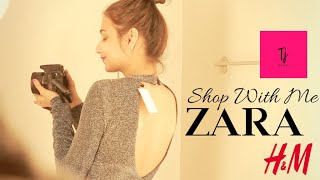 Shop With Me @ ZARA   Bengaluru Orion Mall   H &M   Try on HAUL   GIVEAWAY MONTH