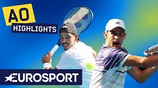 Dominic Thiem vs Alex Bolt Highlights | Australian Open 2020 Round 2 | Eurosport