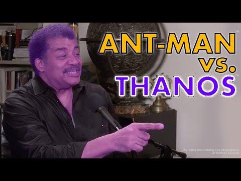 Ant-Man vs. Thanos: Neil deGrasse Tyson Butts In