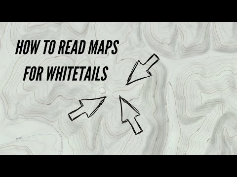 How To Identify Key Terrain Features For Whitetails On A Topographical Map