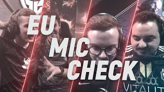 EU LCS Mic Check: Week 2 | Spring Split 2018
