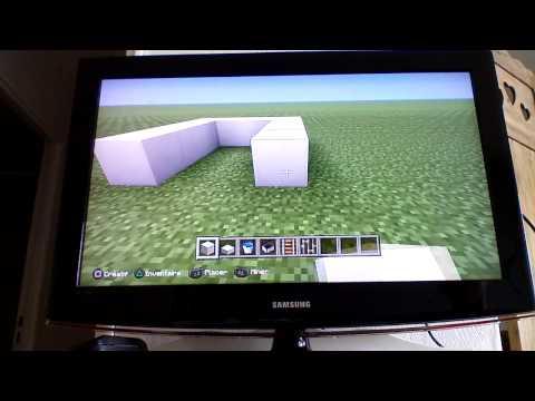 minecraft tuto ps3 ps4 faire une tourelle fusil pompe doovi. Black Bedroom Furniture Sets. Home Design Ideas