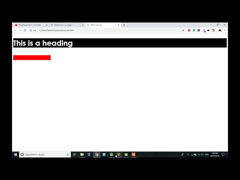 Web Development Tutorial for Beginners (#2) - How to build a CSS Page thumbnail