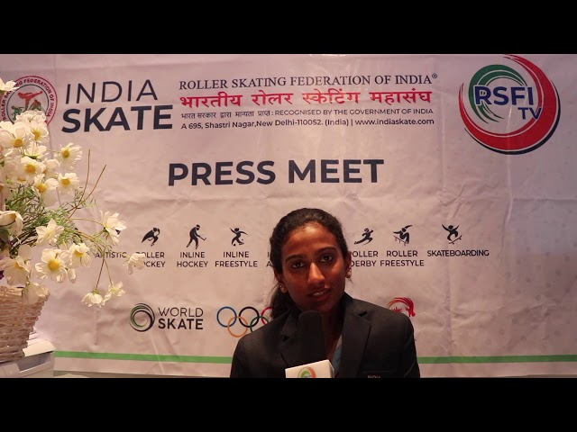RSFI SKATER AARATHY  K. RAJ message in TAMIL