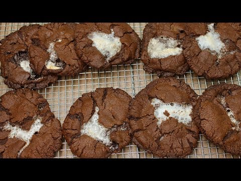 Hot Chocolate Marshmallow Cookies with Michael's Home Cooking