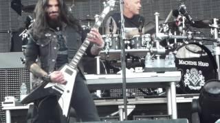 Machine Head I am hell (sonata in c#) LIVE Udine, Italy 2012-05-13 1080p FULL HD