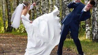 ЖЕСТЬ!!! Невеста избила жениха свадебным букетом 2016 DiamonD PROduction