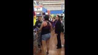 ghetto fight walmart