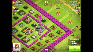 Clash of Clans: Epic 100% Damage Attack