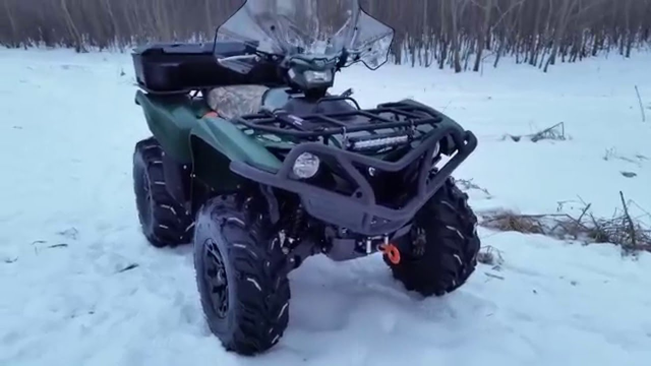 Best 2016 atv money can buy update yamaha grizzly 700 eps youtube sciox Image collections