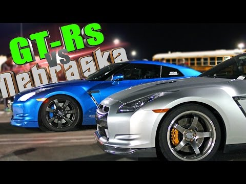 1000+HP GT-R's Battle Nebraska!