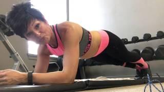видео 4-Минутная Тренировка, Которая Заменит Час Фитнеса в Спортзале