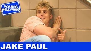 Jake Paul Reveals Life Mottos on Bizaardvark Set!