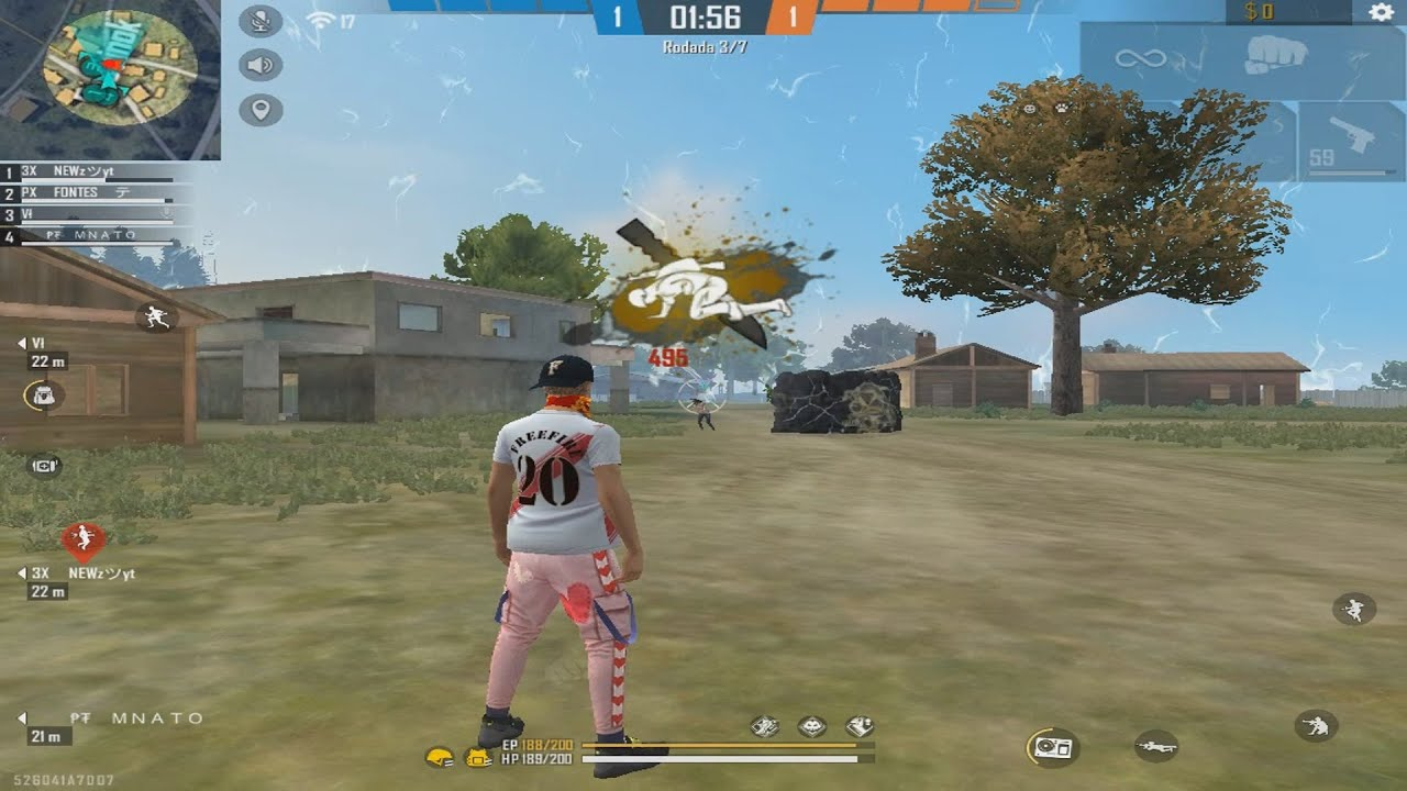 PRO PLAYER DO PC FRACO - HIGHLIGHTS FREE FIRE *SMART GAGA*